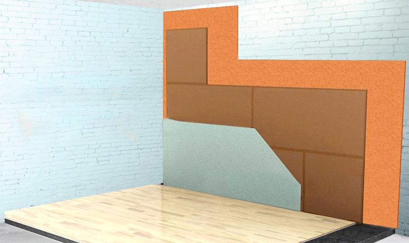бескаркасная шумоизоляция стен в квартире