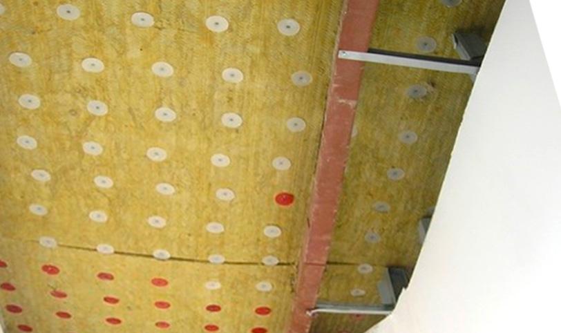неправильный монтаж волокнистых плит