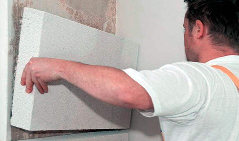 обшивка стены пенопластом