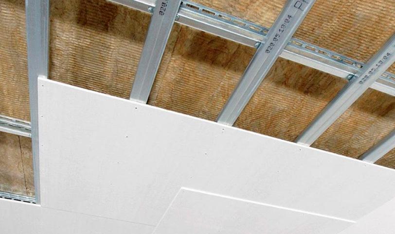 лучшая звукоизоляция потолка в квартире каркасной конструкцией